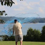 catching bait with a cast net